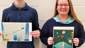 Union City students soar at art contest