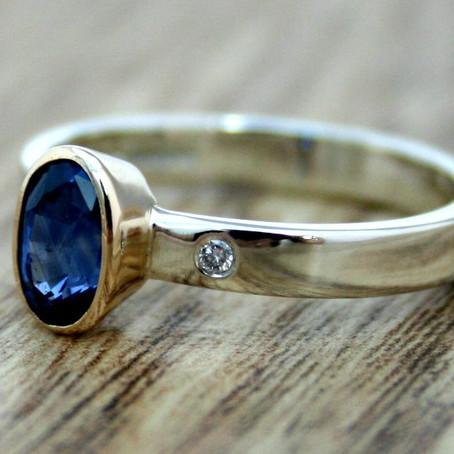 Nineteen48 Sapphire Rings