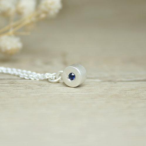 Sapphire Pendant - Simplicity Collection