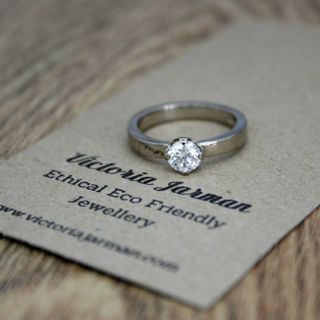 Fairtrade Gold Diamond Engagement Ring