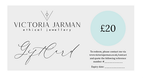 Gift Voucher - Victoria Jarman Jewellery