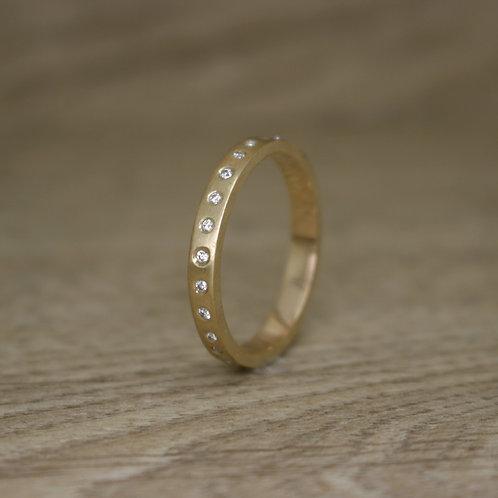 Gold Diamond Eternity Ring