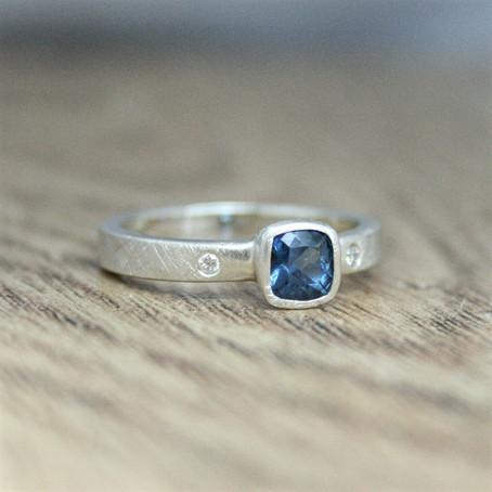 Fairtrade Gemstone Sapphire Ring