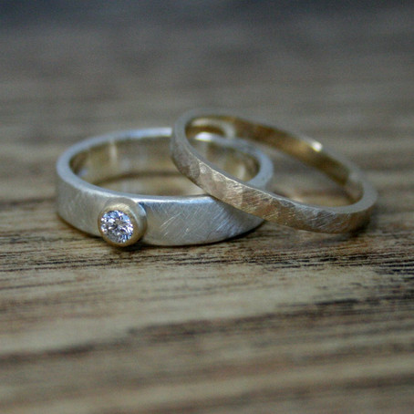 Low Profile Diamond Ring
