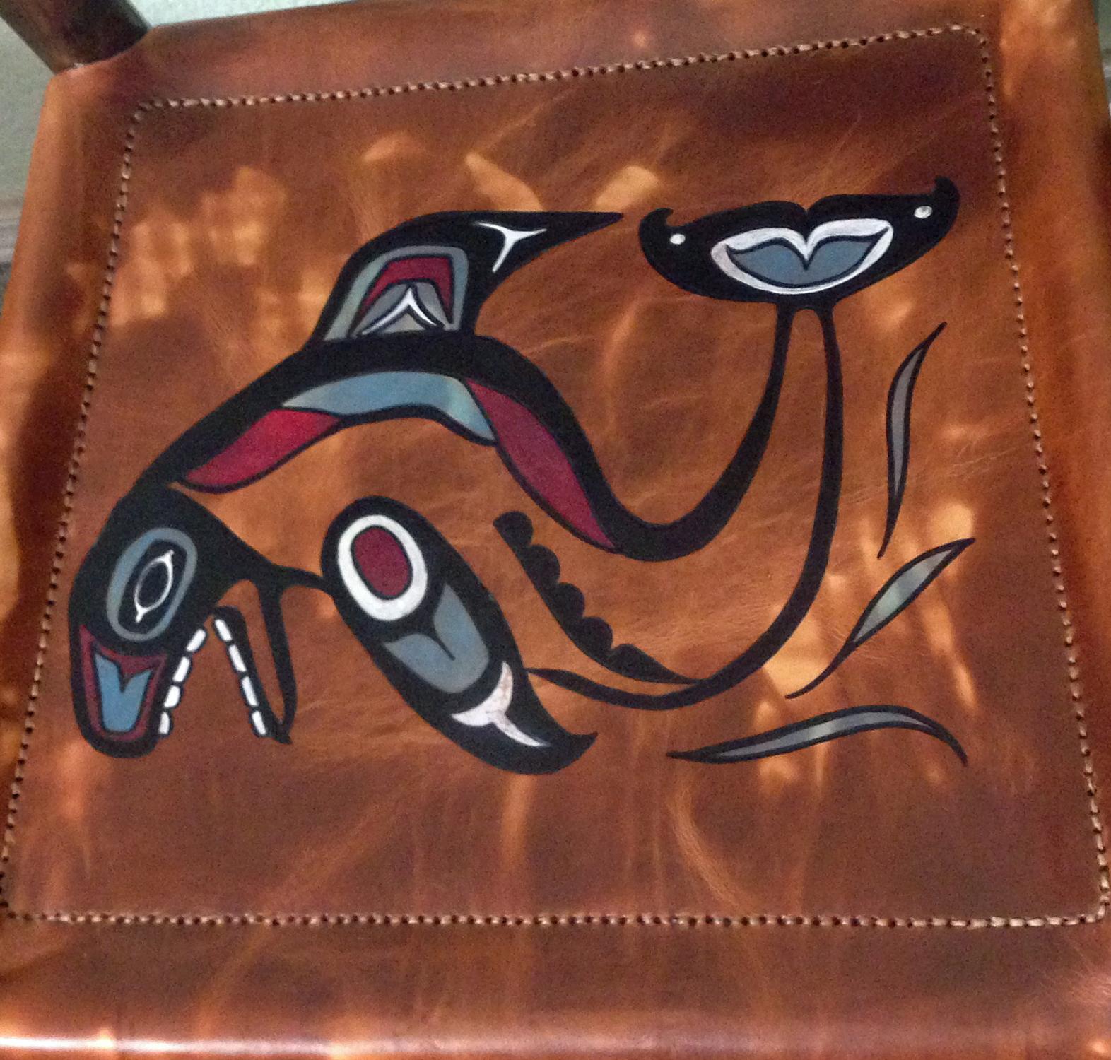Closeup Orca Seat