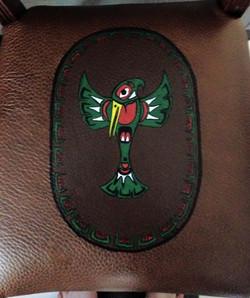 Closeup Hummingbird Seat