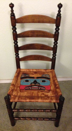 Ladderback Bear Seat