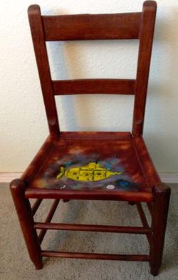 Child's Chair Yellow Submarine