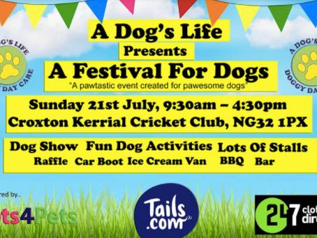 A Dog's Life Festival!
