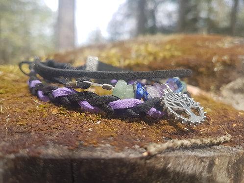 Bracelet talisman païen pour le stress, l'angoisse et l'anxiété