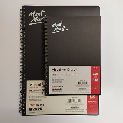 Mont Mart ספר סקיצה נייר 110 גר' אופוויט – ספירלה