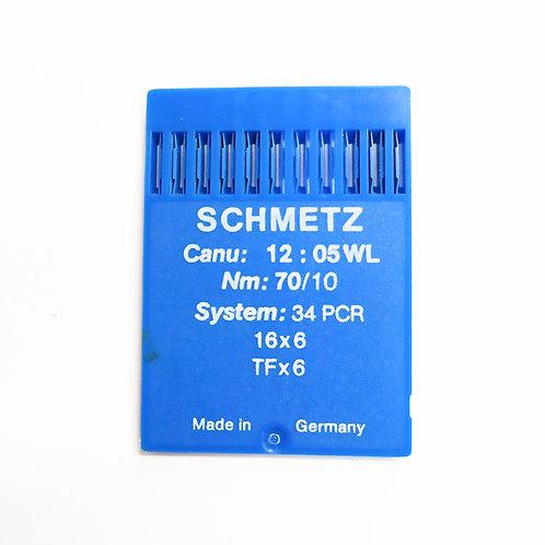SCHMETZ 'מחט לעור למכונת תפירה תעשייתית רגילה 10 יח
