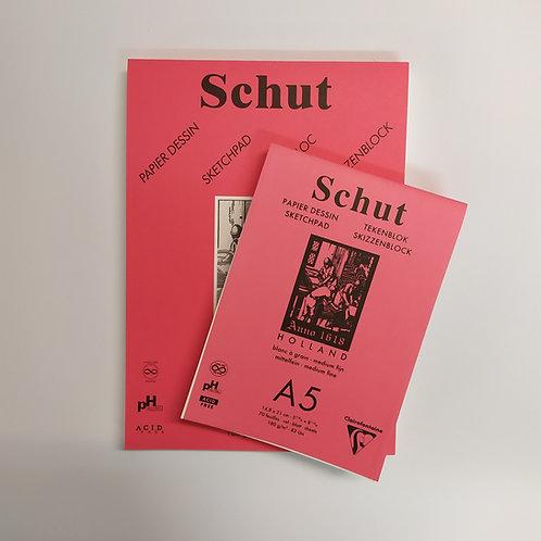 Schut בלוק 180 גר' 70 דפים