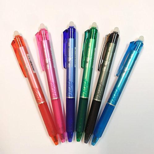 עט ג'ל מחיק עם לחצן 0.5