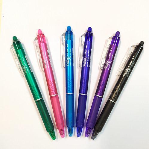 עט ג'ל מחיק עם לחצן 0.7
