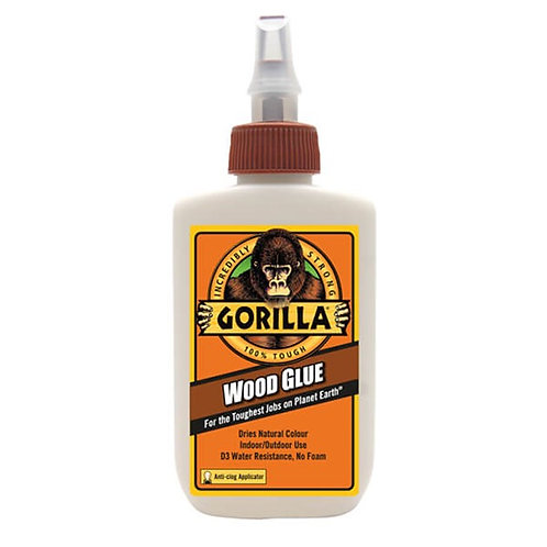 Gorilla glue 118 ml  דבק עץ גורילה גלו עמיד במים