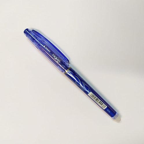עט ג'ל מחיק עם פקק 0.5