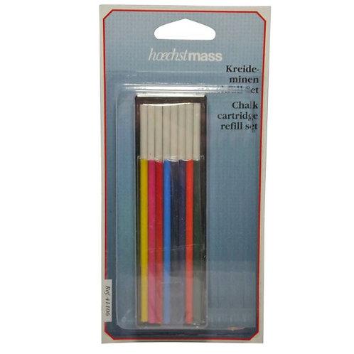 מילוי צבעוני+לבן לעפרון מכני לגירים