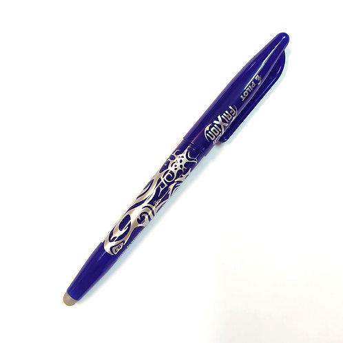 עט ג'ל מחיק עם פקק 0.7