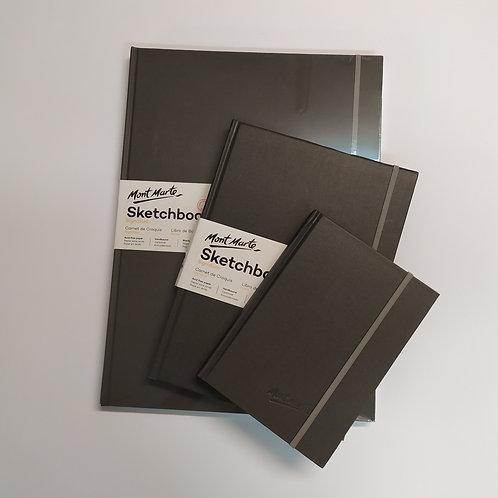 Mont Mart - 'ספר סקיצה כריכה קשה נייר לבן 110 גר