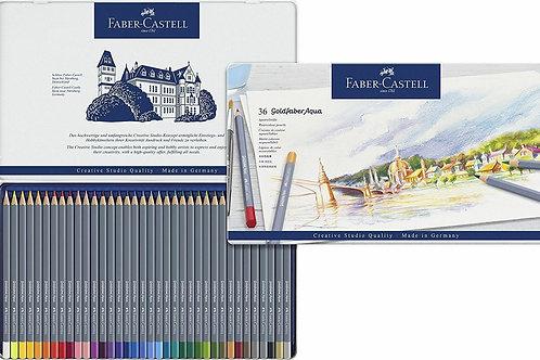 Faber-Castell Goldfaber Aqua סט 36 עפרונות מים