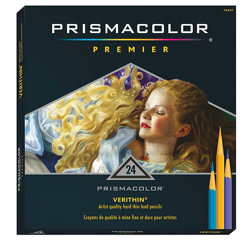 PRISMACOLOR Verthin סט 24 עפרונות