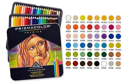 PRISMACOLOR סט 48 עפרונות צבעוניים