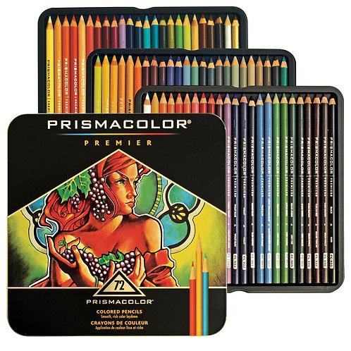 PRISMACOLOR סט 72 עפרונות צבעוניים