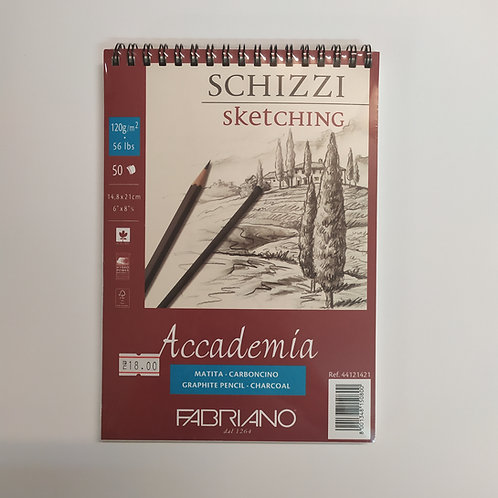 Fabriano – Accademia 'בלוק רישום – 120 גר
