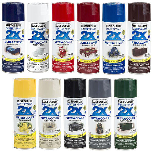 Painter's-Touch 2X ספריי צבע+פריימר