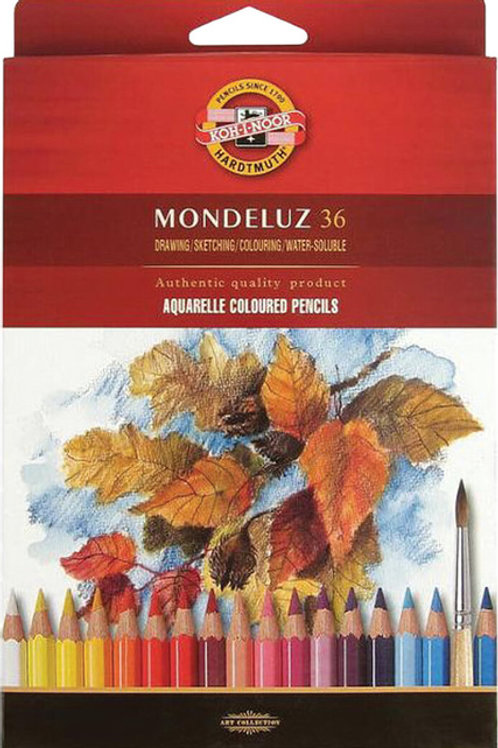 copy of KOU-I-NOOR Mondeluz סט 36 עפרונות מים