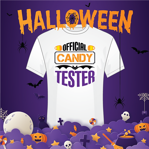 Official Candy Tester Tee