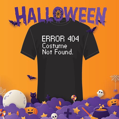 ERROR 404: Costume Not Found Youth Tee
