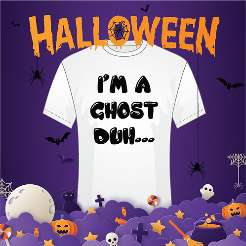 I'm A Ghost, Duh... Youth Tee