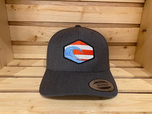 PR Flag Patch Trucker Cap