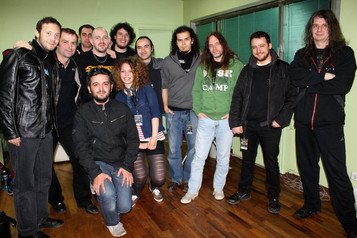 O. Canatan and Dreamtone team with Blind Guardian, 2011