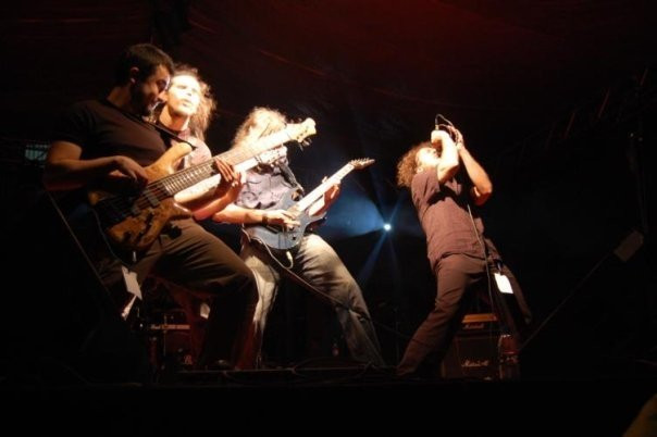 O. Canatan and Dreamtone on stage - 2008