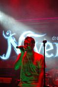 O. Canatan on stage with Dreamtone & Iris Mavraki's Neverland in Greece, 2010