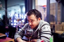 O. Canatan at a restaurant