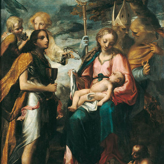 La Vierge à l'Enfant et le mystère de la Passion