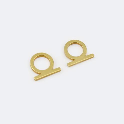 Shen Mini Studs Gold