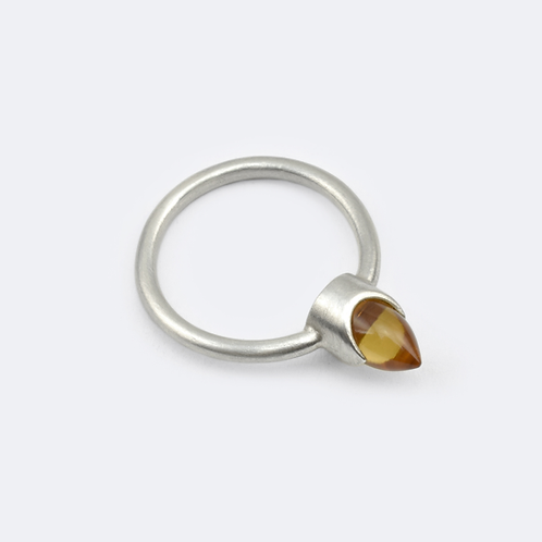Fire Ring Silver