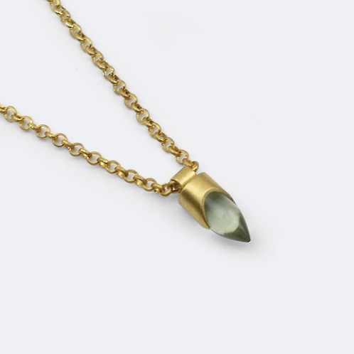 Water Pendant Gold