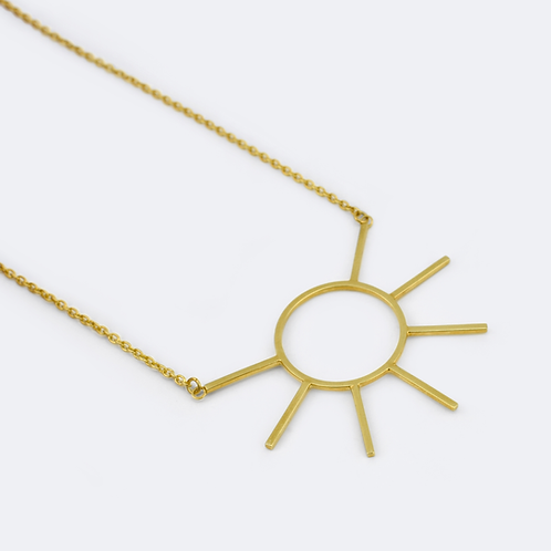 Ray Necklace Gold