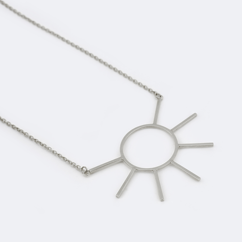 Ray Necklace Silver