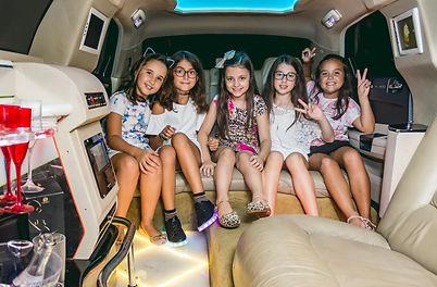 Festa infantil na Limousine em Curitiba