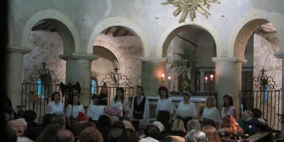 Concert à l'Eglise de Bray sur Seine, 77