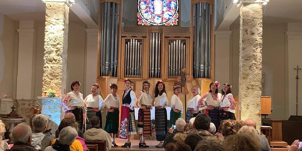 ORENDA VOICES à l'Eglise Saint-Laurent de VILLEREVERSURE (01250)