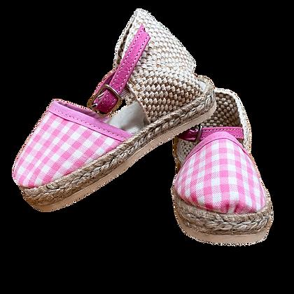 Pink gingham lolita