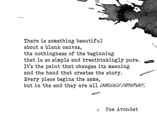 Poe Avondet Quote